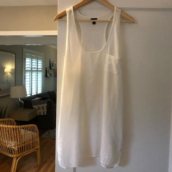 J. Crew Other - J Crew White Swimsuit Coverup Dress